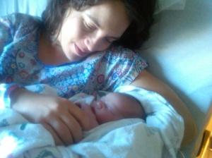 Jennifer and Baby Maybel